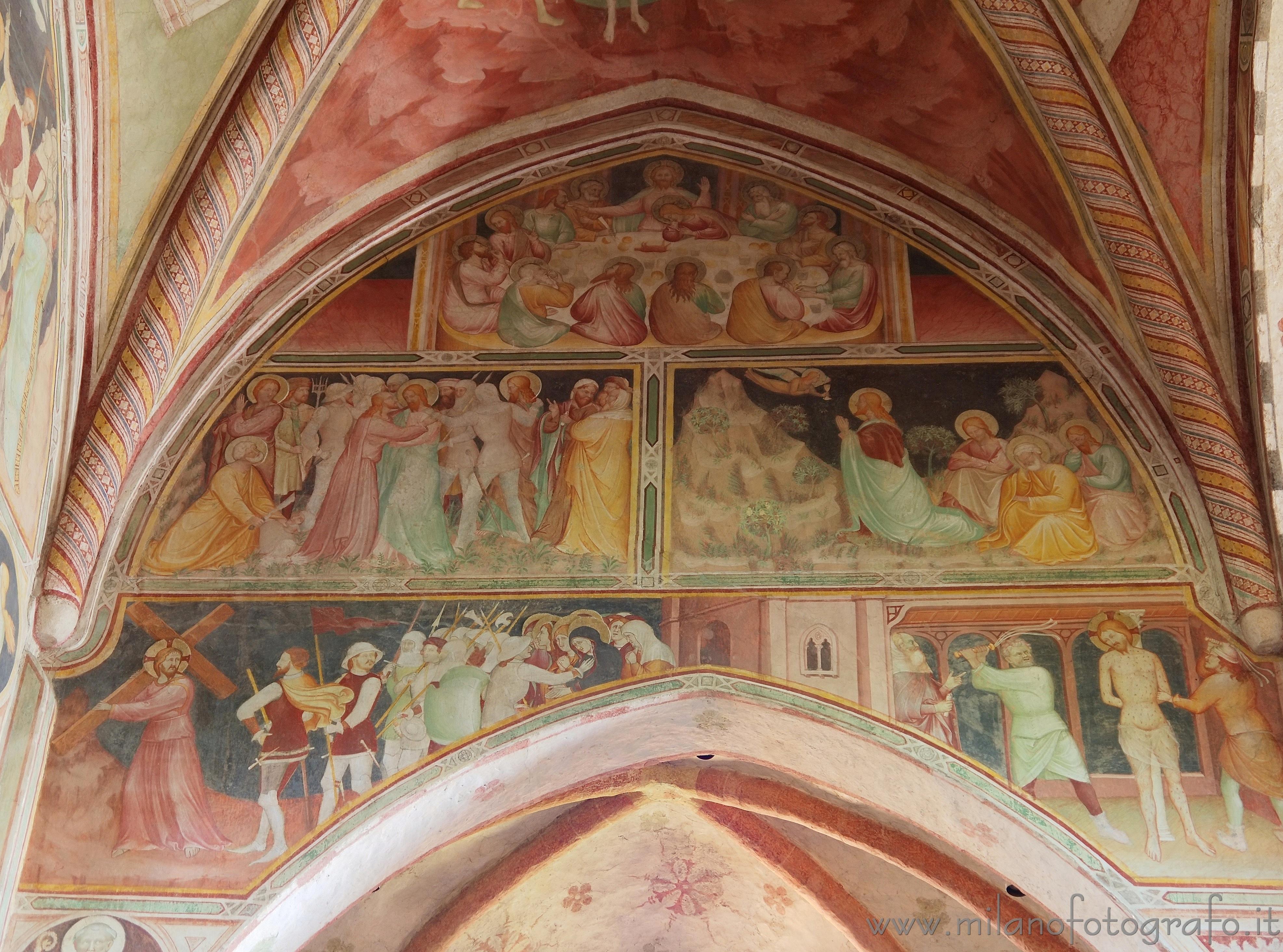 San giuliano milanese milano affreschi medioevali nell - Piastrelle san giuliano milanese ...