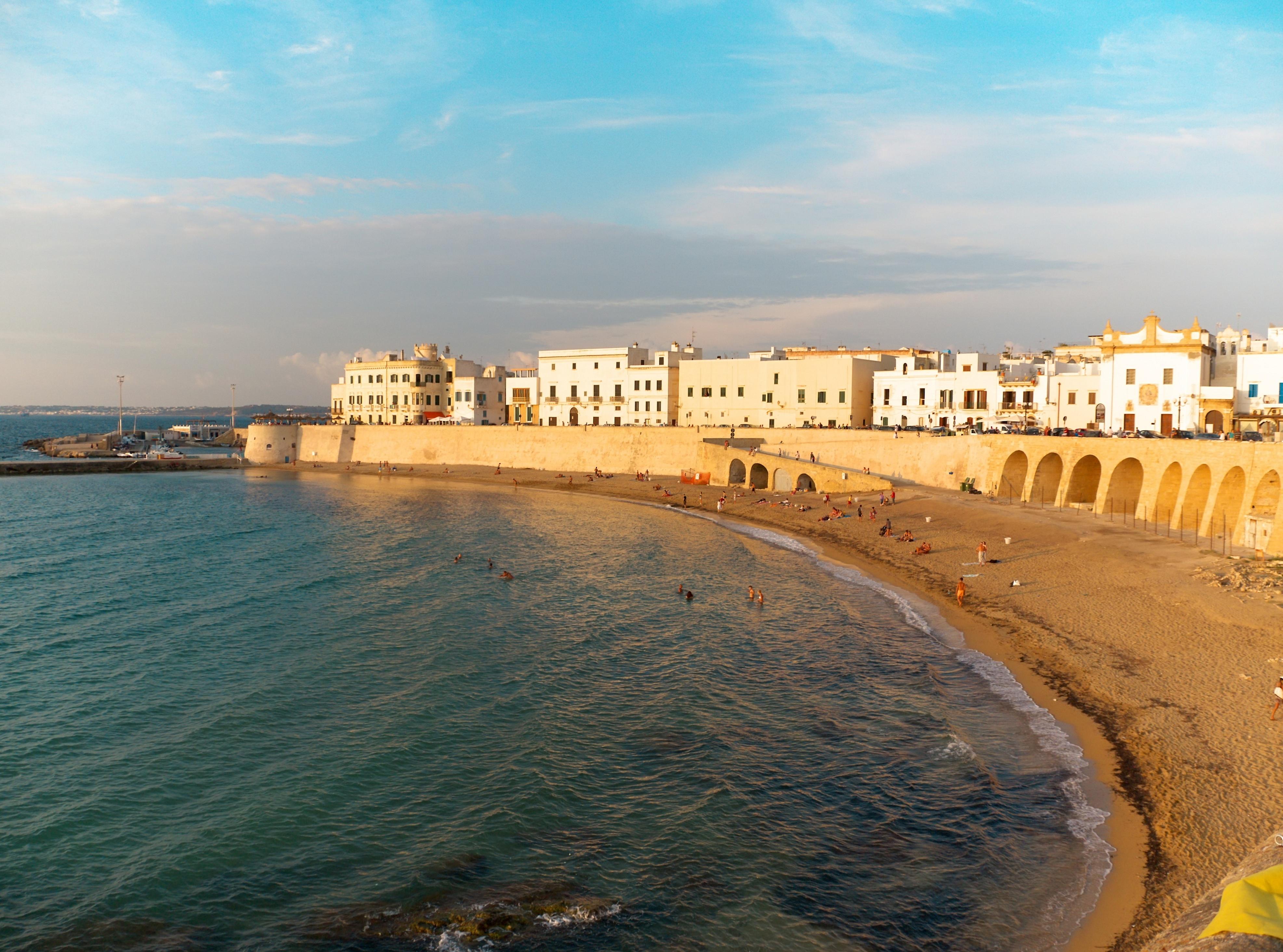 Matrimonio Spiaggia Gallipoli : Gallipoli lecce la spiaggia della puritate a