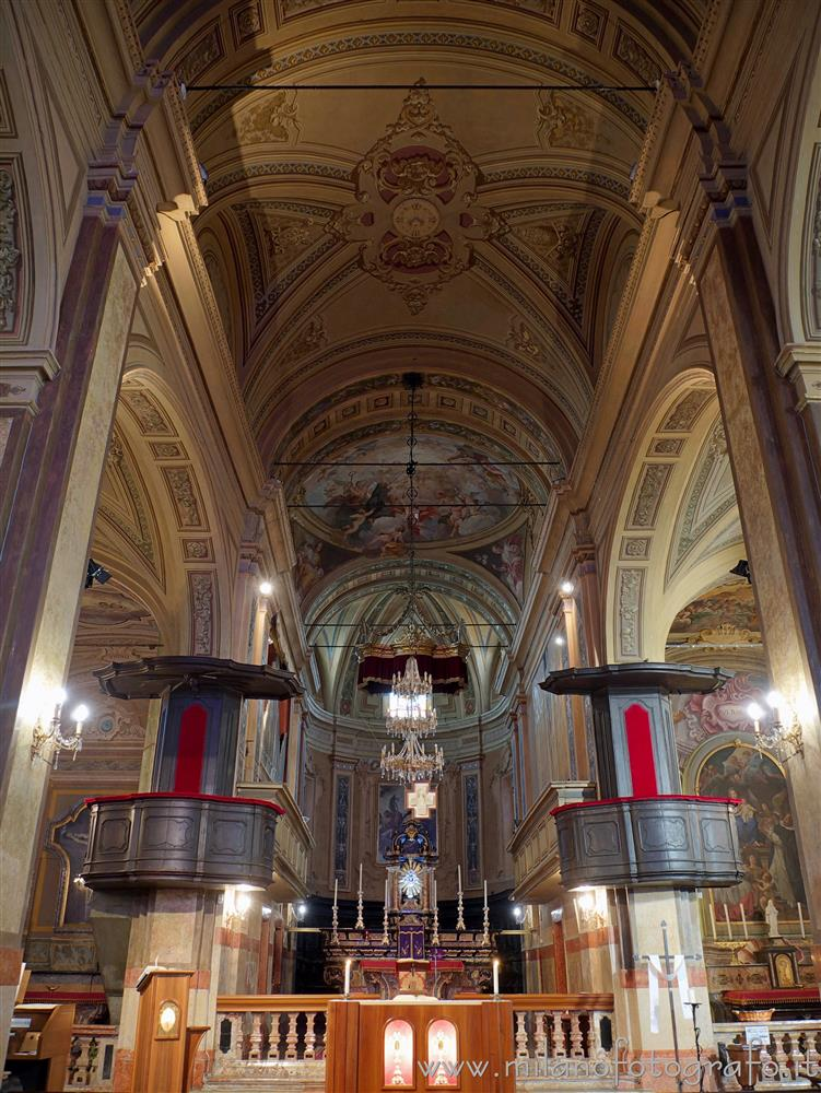 Biandrate (Novara, Italy) - Aps of the Church of San Colombano