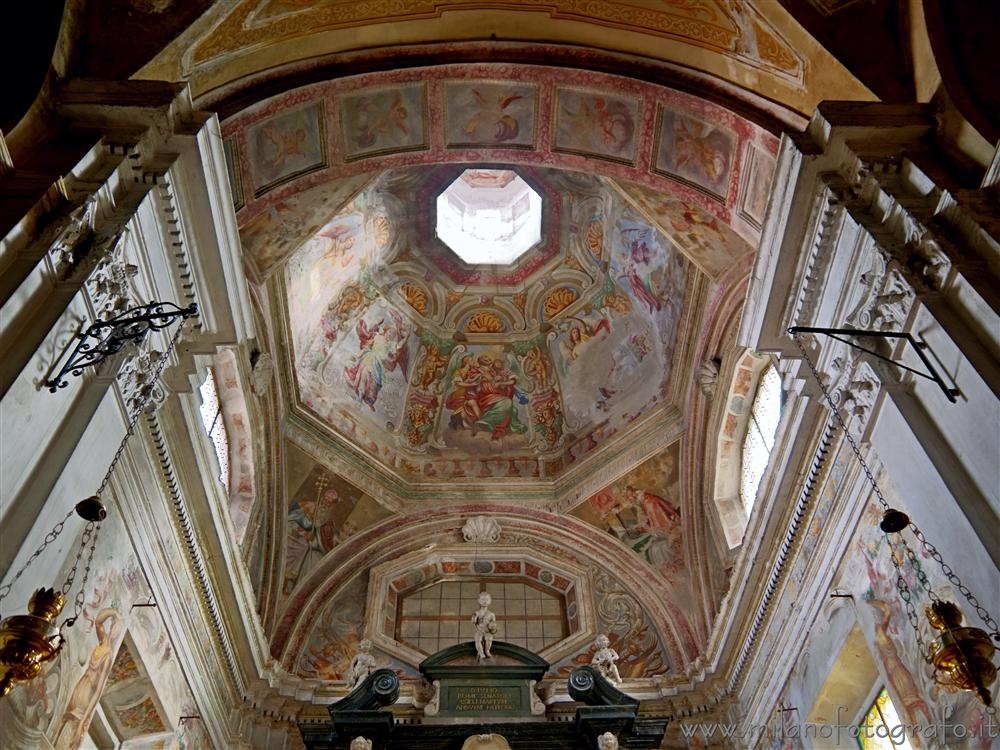 Andorno Micca (Biella, Italy) - Frescos inside the Chapel of San Giulio in the Church of San Lorenzo