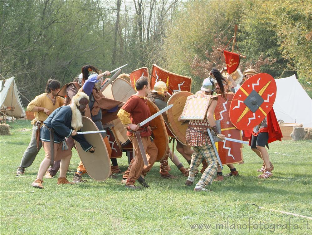 Cisliano (Milan, Italy) - Battle between Celts and Romans at Storitalia