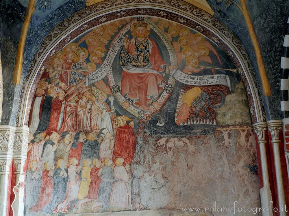 Biandrate (Novara, Italy) - Fresco of the Last Judgement