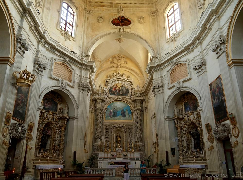 Lecce (Italy) - Interior of the Church of Santa Chiara