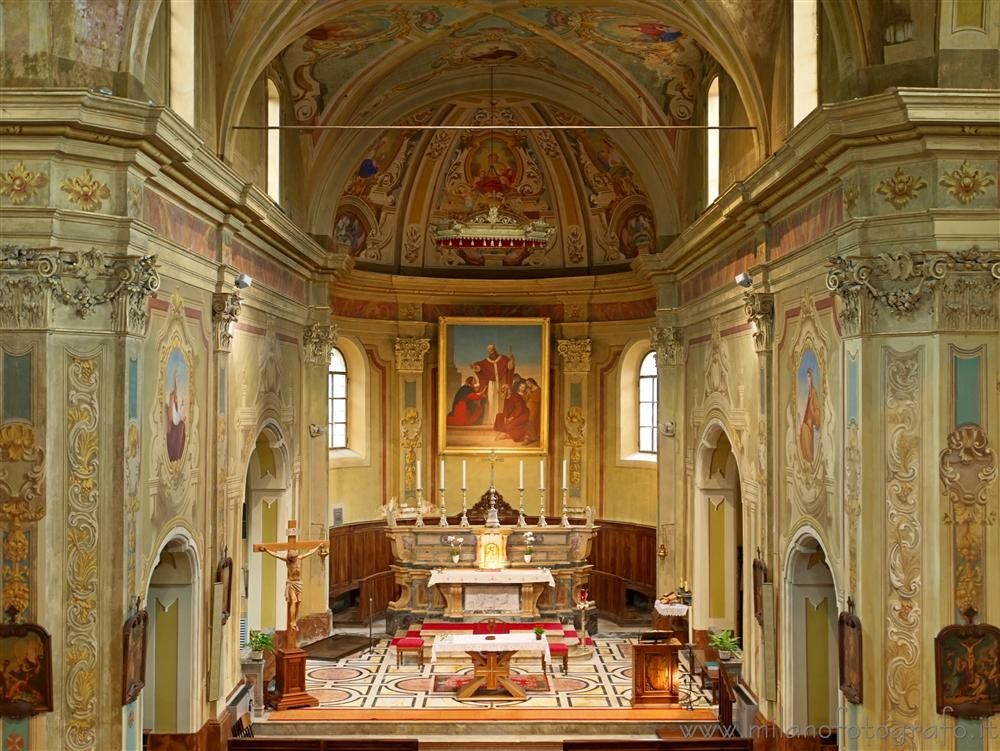 Tollegno (Biella, Italy) - Aps of the Church of San Germano
