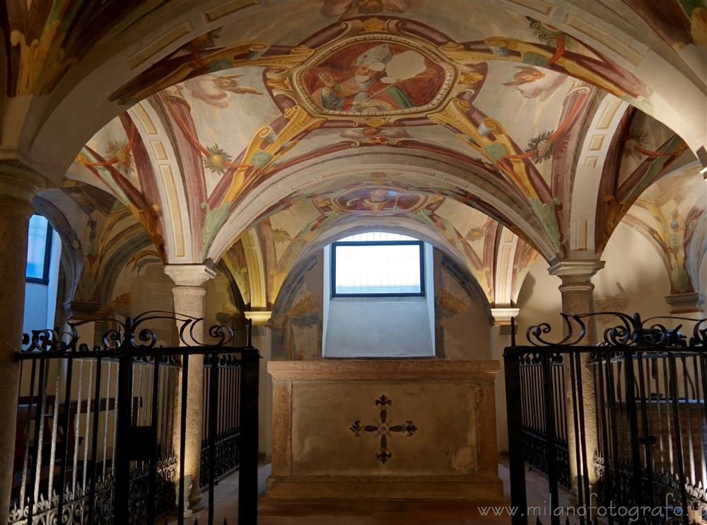 Milan (Italy) - Crypt of the Church of San Calimero
