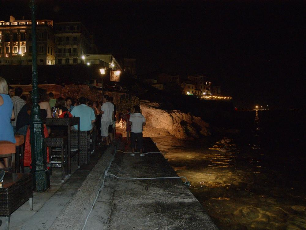 Korfu Town (Greece) - Amaze Bar in Korfu Town