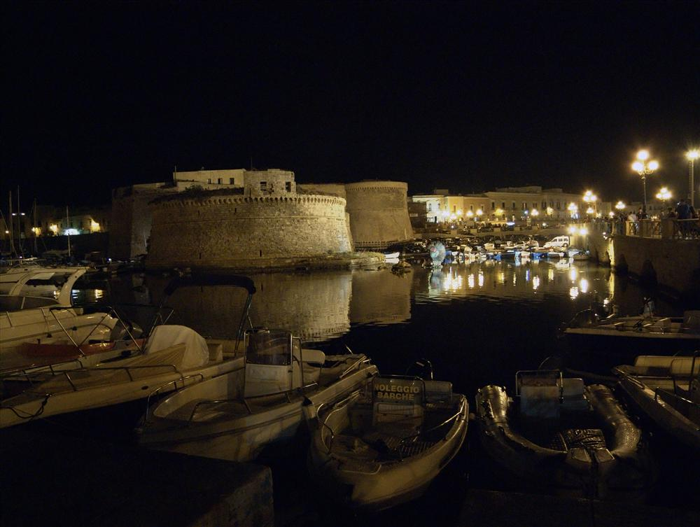 Gallipoli (Lecce, Italy) - The fortess of the old Gallipoli