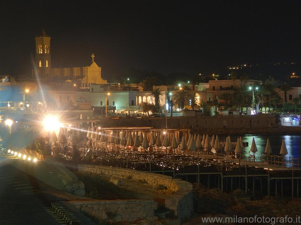 Leuca (Lecce, Italy) - Part of Leuca in the night