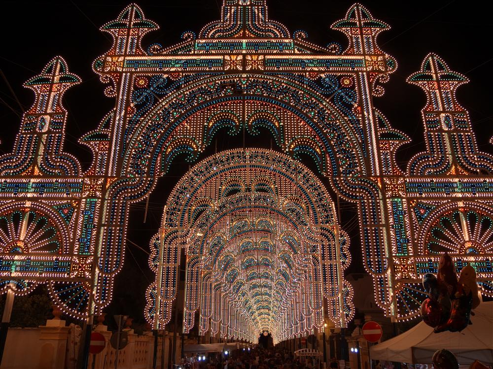 Alezio (Lecce, Italy) - Lights for the town festival