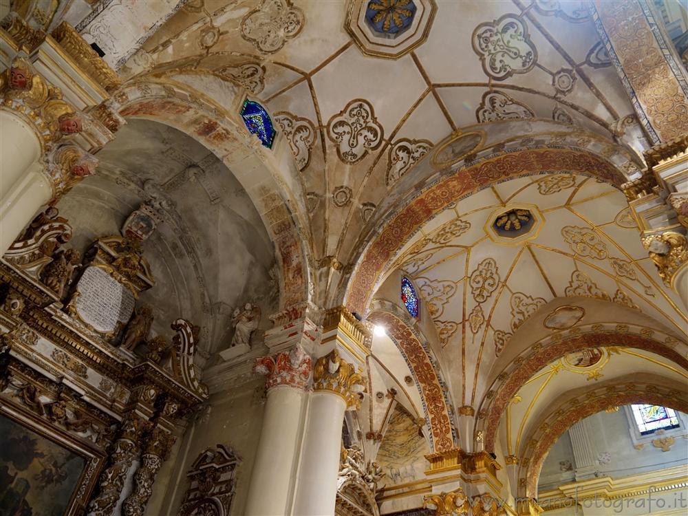 Decorazioni sul soffitto del duomo lecce - Decorazioni soffitto ...