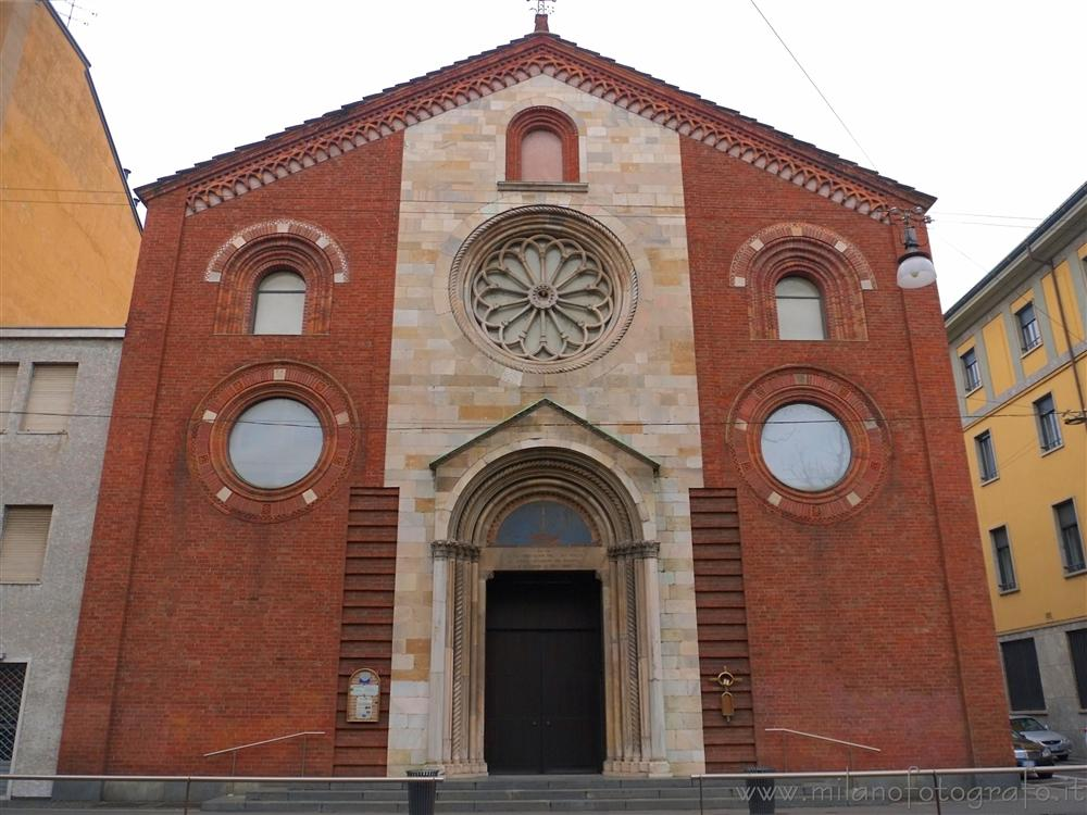 Milan (Italy) - Facade of the Waldensian Church