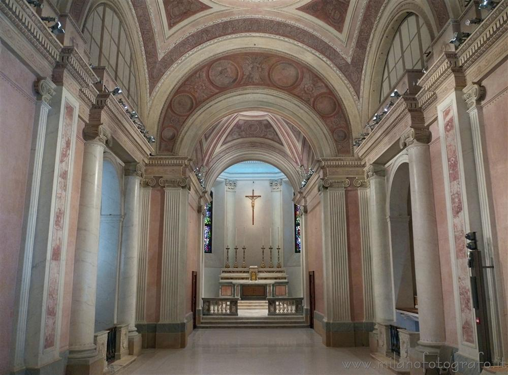 Milan (Italy) - Interiors of the Church of San Gottardo at the Court