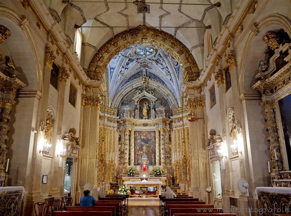 Lecce (Italy) - The church of the Mother of God and St. Nicholas, also known as Church of the Discalced