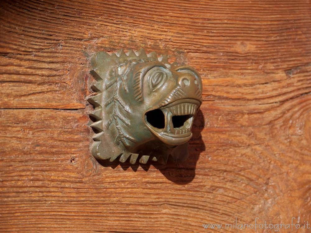 San Nazzaro Sesia (Novara, Italy) - Handle with the form of a lion head