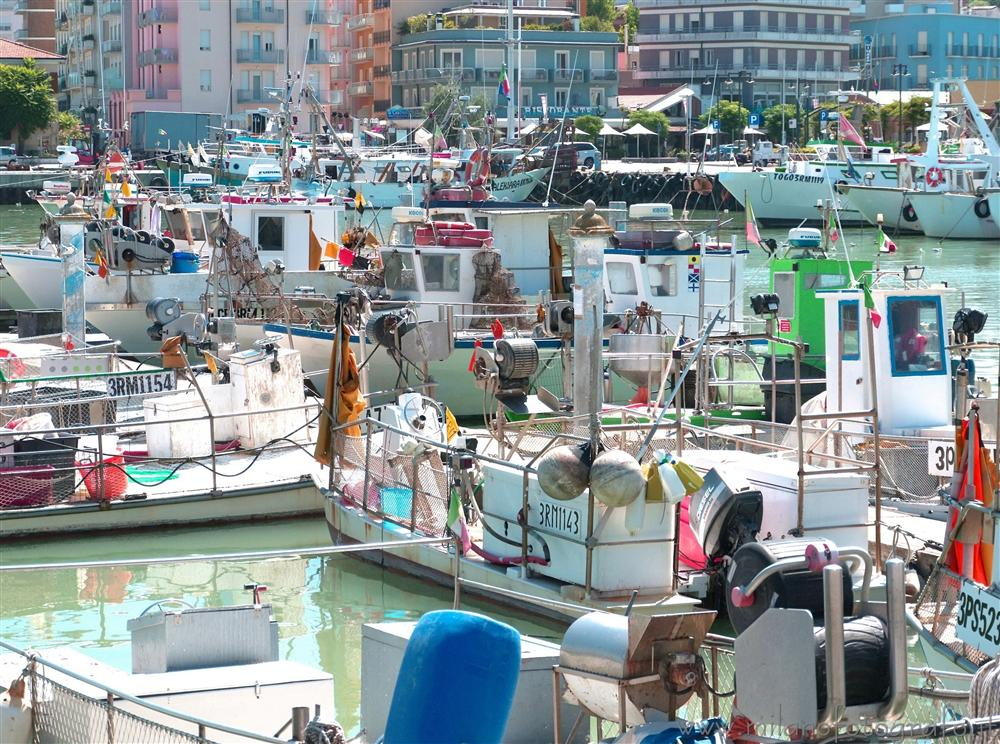Cattolica (Rimini, Italy) - Colors in the harbour