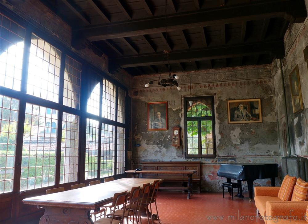 Milan (Italy) - Main room of Villa Mirabello