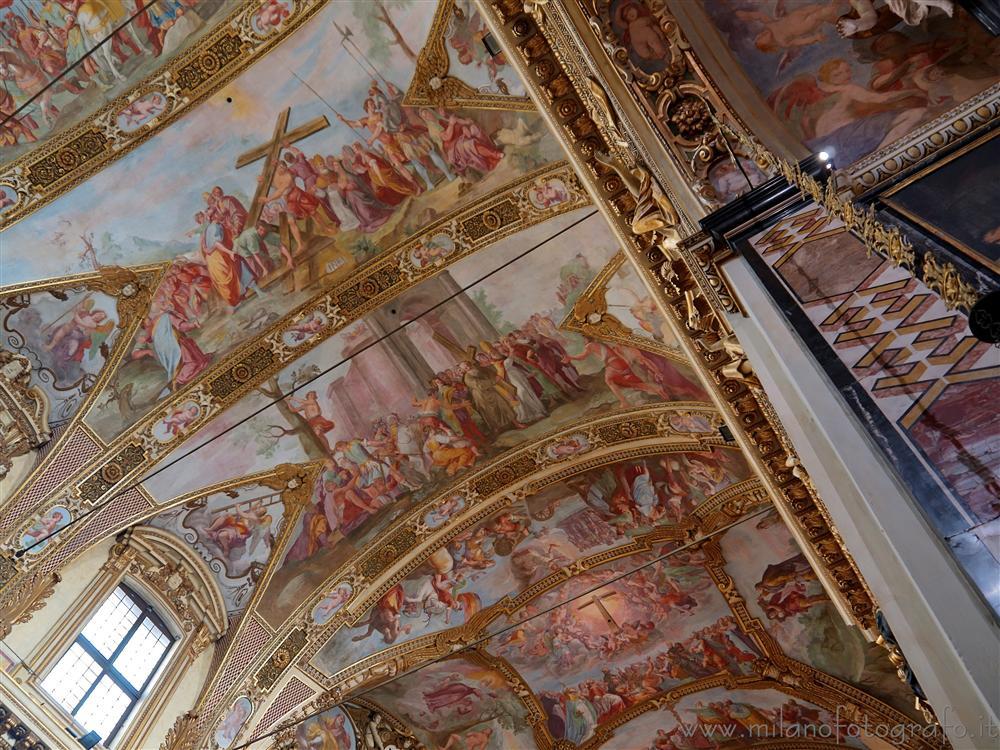 Affreschi sul soffitto di Sant Antonio Abate - Milano