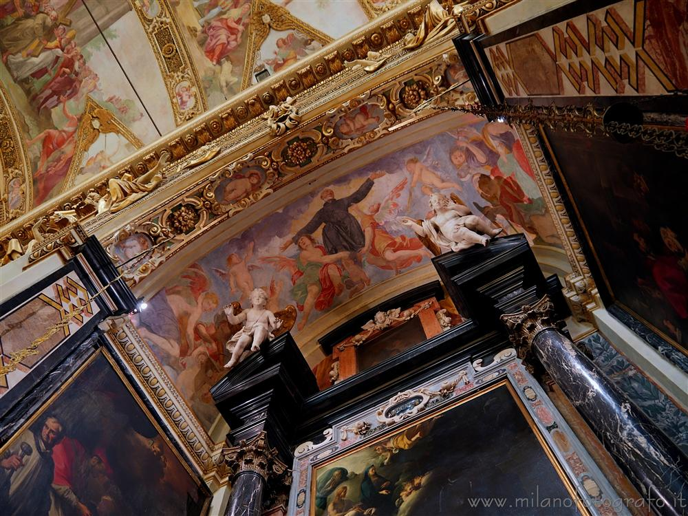 Milan (Italy) - Detail of the interiors of the Church of Sant'Antonio Abate