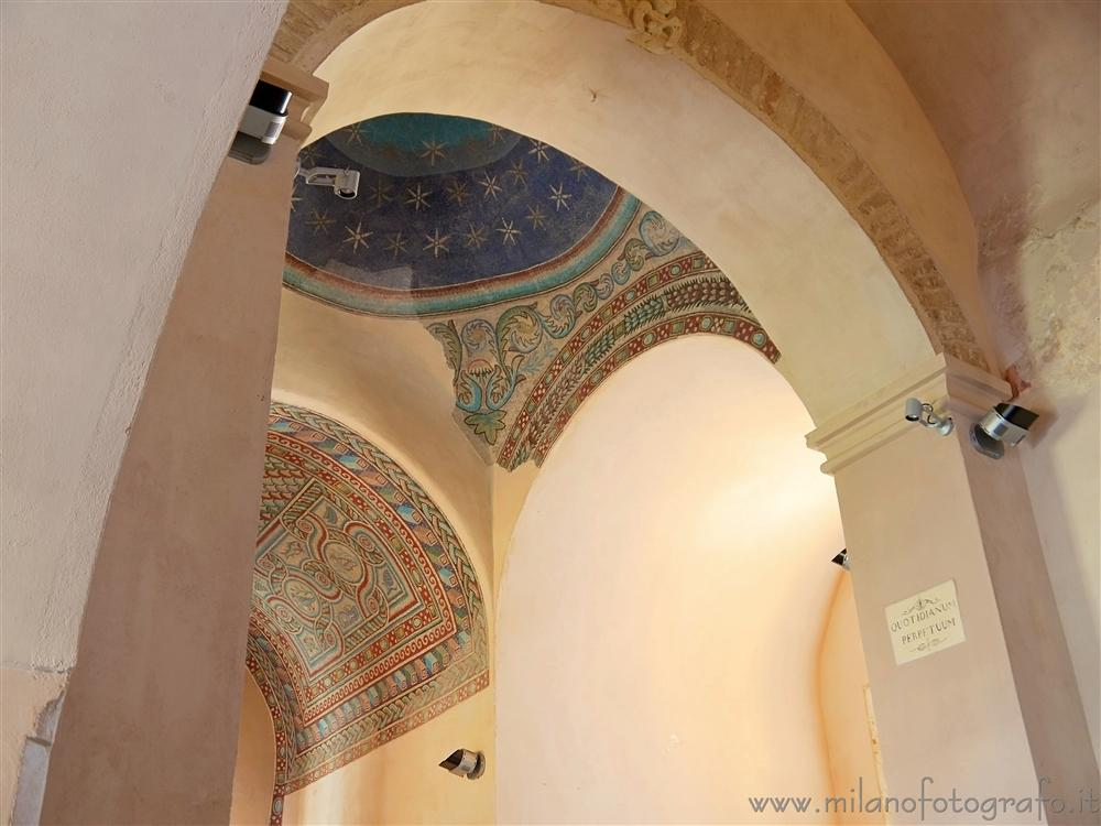 Casarano (Lecce, Italy) - Detail of the interiors of the Church of Santa Maria della Croce