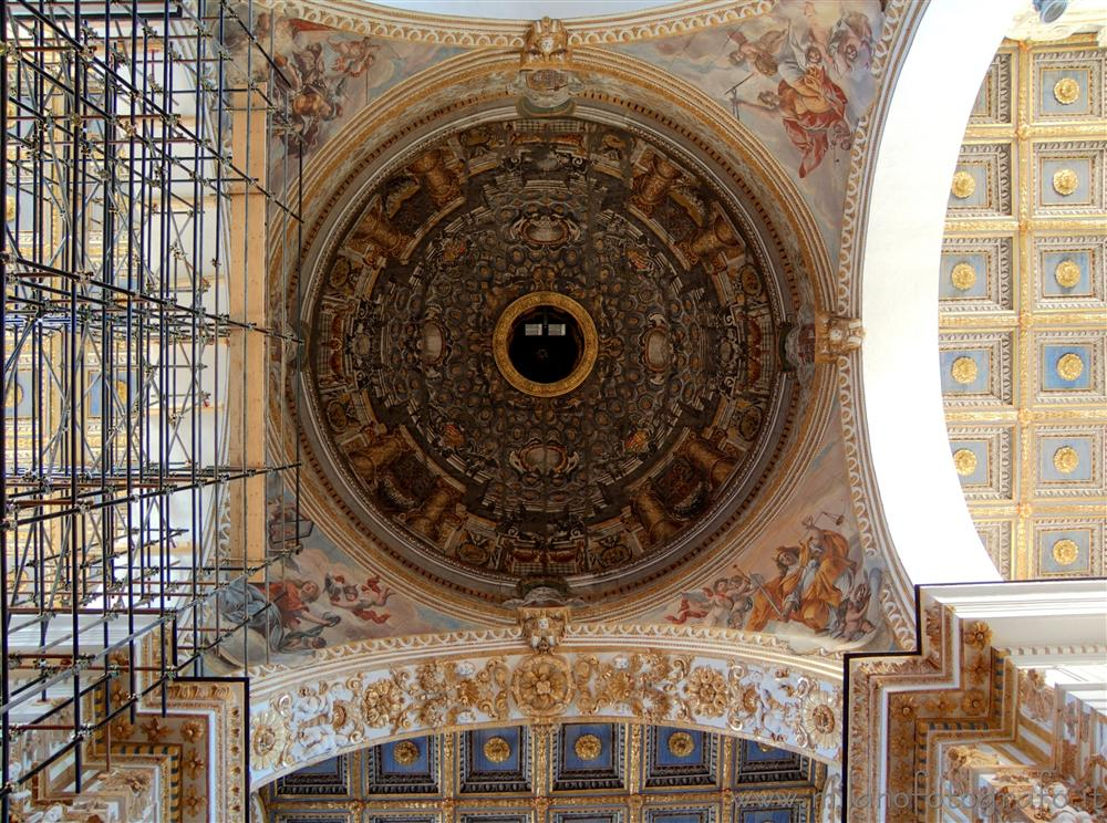 Agrigento (Italy) - The ceiling of the Duomo