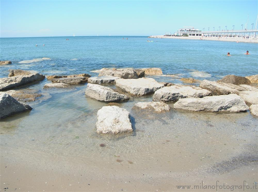 Cattolica (Rimini, Italy) - Beach with artificial rocks