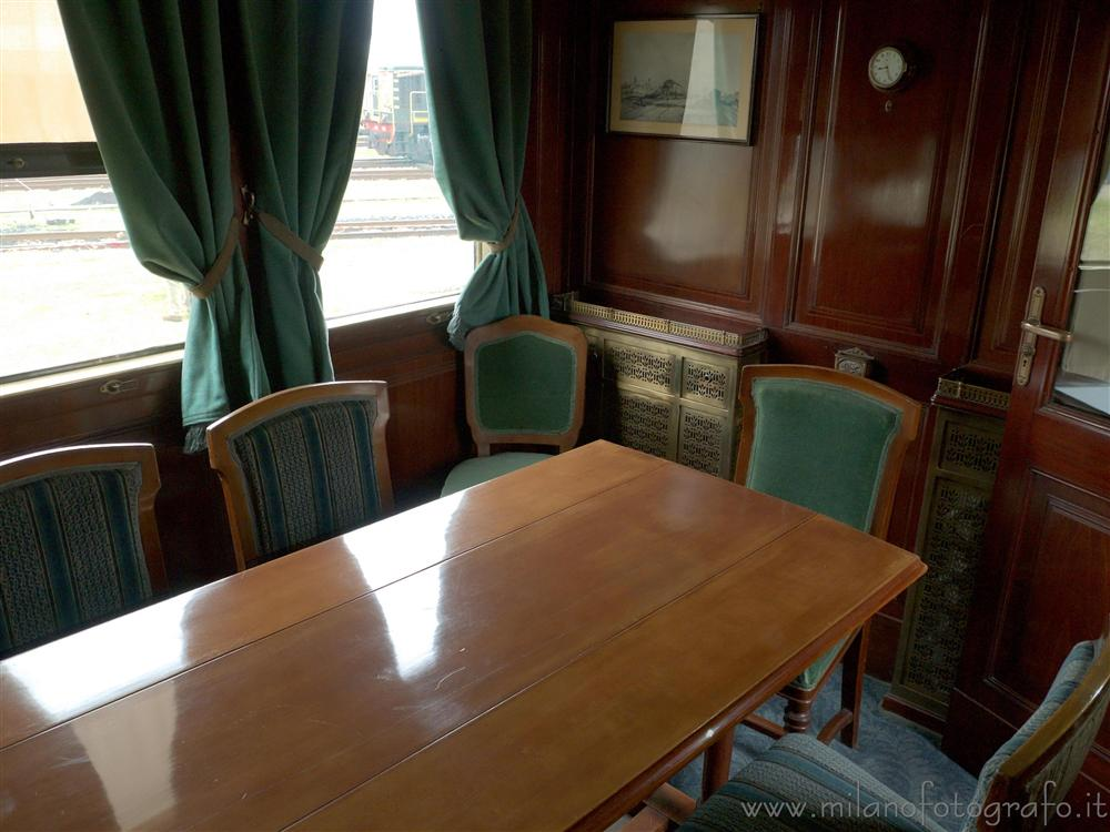 Milan (Italy) - Meeting room in the presidential train
