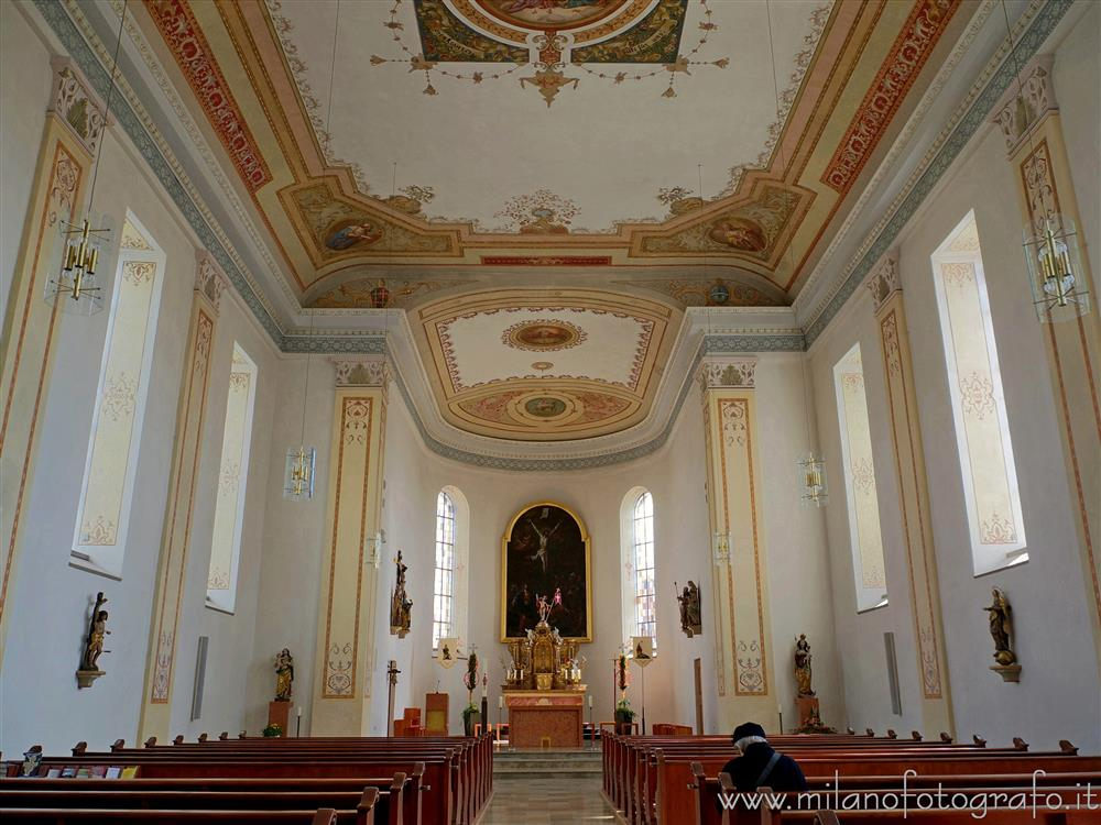 Wurmlingen (Germany) - Interior of the Church of St. Gallus