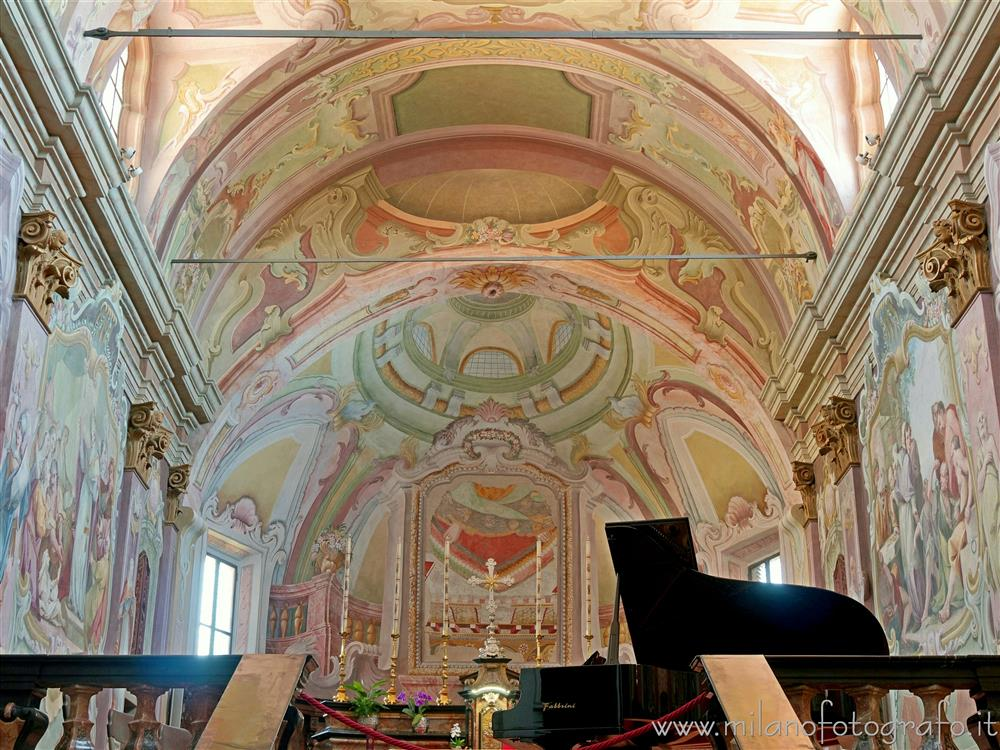 Sesto Calende (Varese, Italy) - Main apse of the Abbey of San Donato