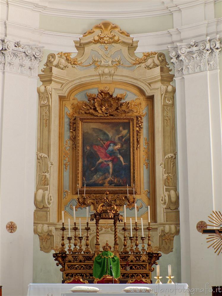 Santarcangelo di Romagna (Rimini, Italy) - Main altar of the Church of the Blessed Virgin of the Rosary