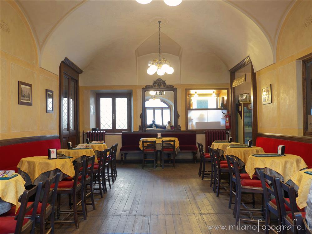 Oropa (Biella, Italy) - First hall of the Caffè Oropa