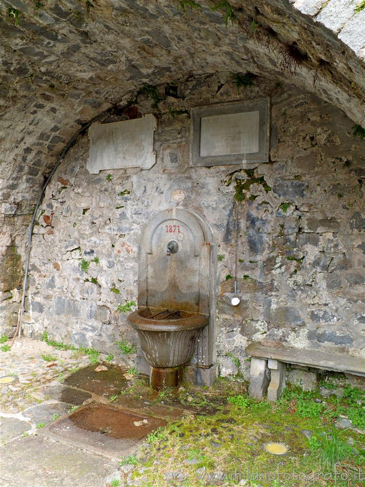 Beccara fraction of Rosazza (Biella, Italy) - Old standpipe