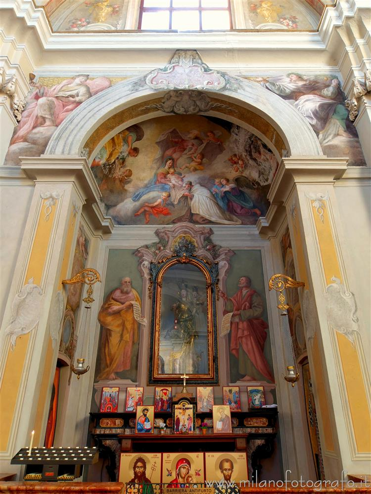 Busto Arsizio (Varese, Italy) - Chapel of the Madonna del Carmelo in the Church of San Rocco