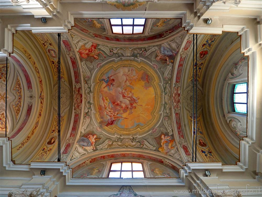Busto Arsizio (Varese, Italy) - Ceiling of the Church of San Rocco