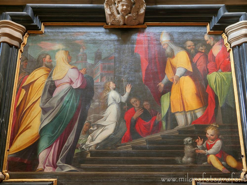 Milan (Italy) - Presentation of Jesus at the temple by Camillo Procaccini