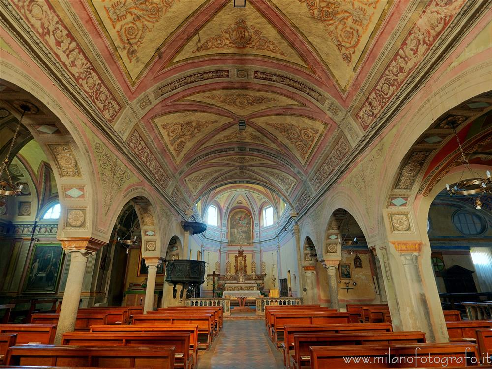 Candelo (Biella, Italy) - Interior of the Church of Santa Maria Maggiore