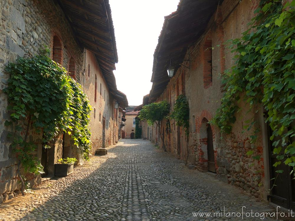 Candelo (Biella, Italy) - Street inside the ricetto of Candelo