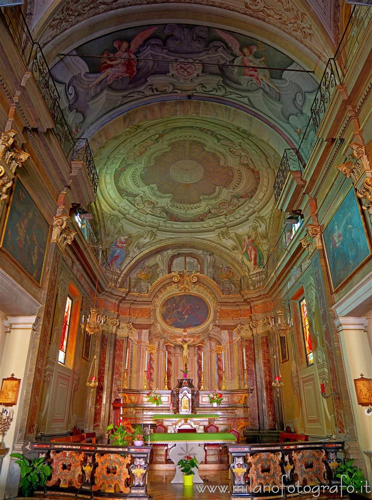 Candelo (Biella, Italy) - Apse of the Church of San Pietro