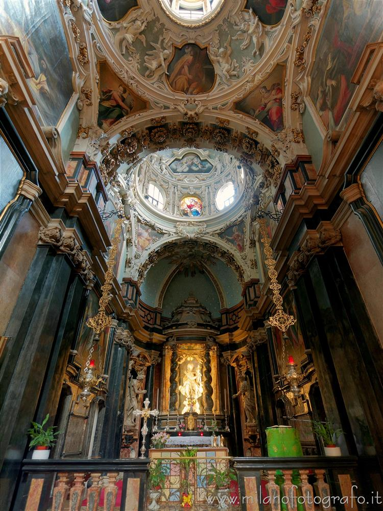 Milan (Italy) - Chapel of the Carmine Virgin in the Church of Santa Maria del Carmine
