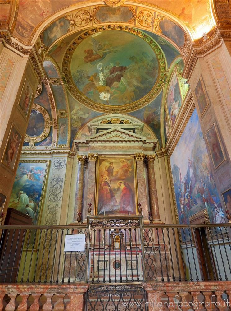 Milan (Italy) - Chapel of Sant'Alessandro Sauli in the Church of Sant'Alessandro in Zebedia
