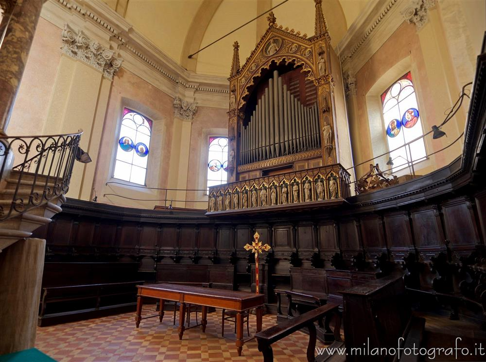 Milan (Italy) - Choir of the Church of Santa Maria del Carmine
