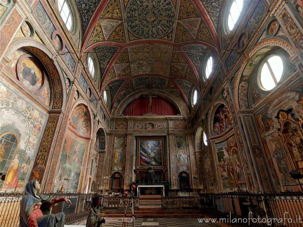 Meda (Milan, Italy) - Interior of the Church of San Vittore