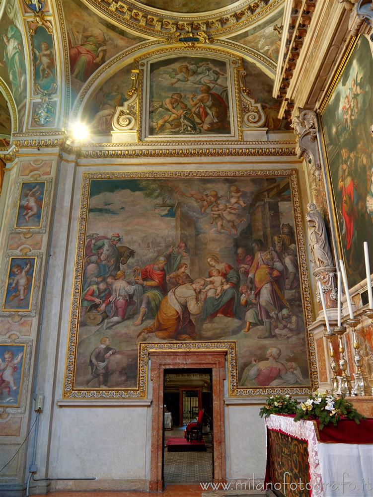 Milan (Italy) - Chapel of the Nativity in the Church of Sant'Alessandro in Zebedia