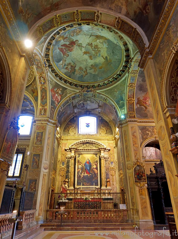 Milan (Italy) - Chapel of the Assumption of the Virgin in the Church of Sant'Alessandro