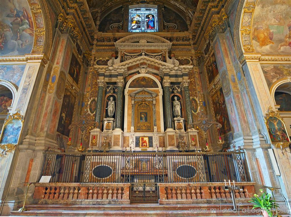 Milan (Italy) - Chapel of Our Lady of Sorrows in the Church of Sant'Alessandro in Zebedia