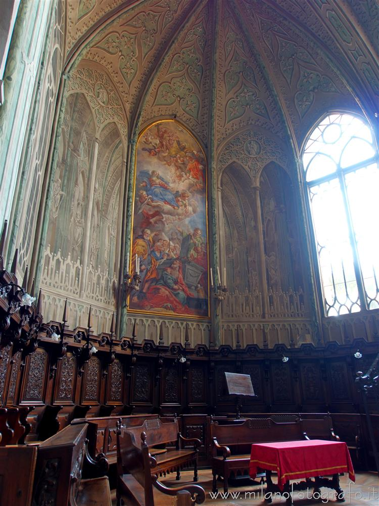 Biella (Italy) - Choir of the Cathedral of Biella