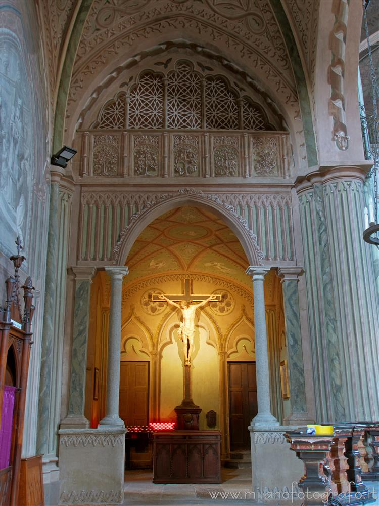 Biella (Italy) - Chapel of the crucifix in the Cathedral of Biella