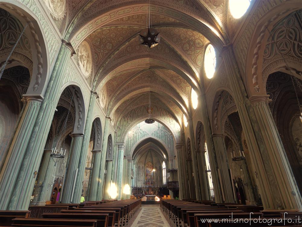 Biella (Italy) - Cathedral of Biella - interior