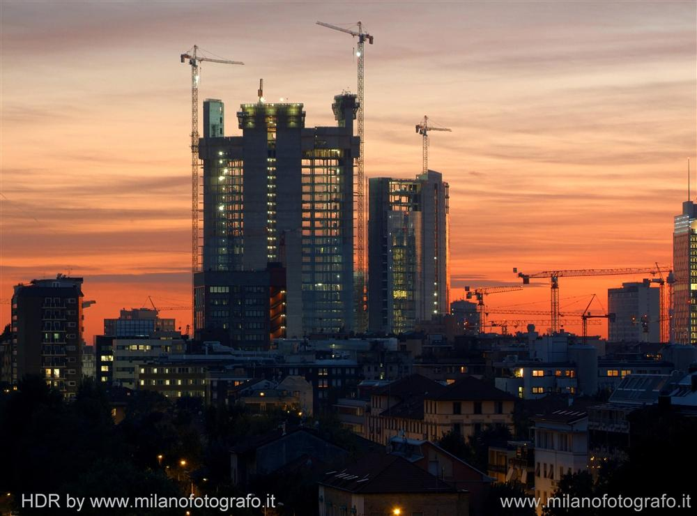 Milan (Italy) - The new skyscrapers in the Varesine quarter
