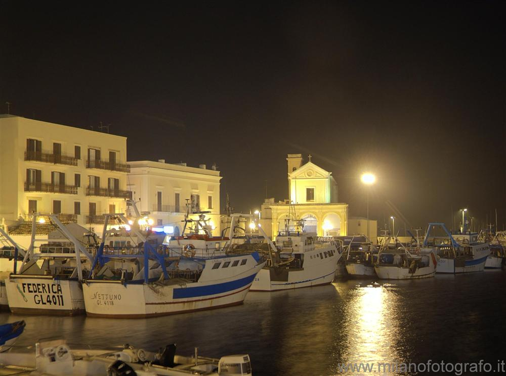 Gallipoli (Lecce, Italy) - Part of the harbour