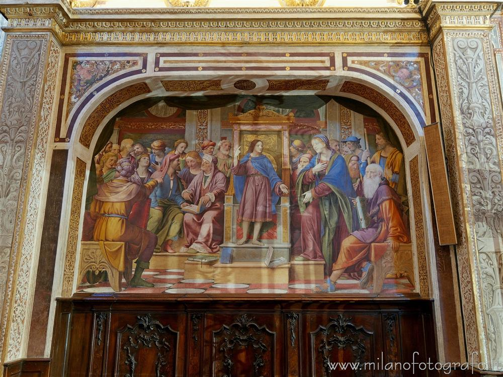 Saronno (Varese, Italy) - Dispute with the Doctors inside the Sanctuary of Saronno